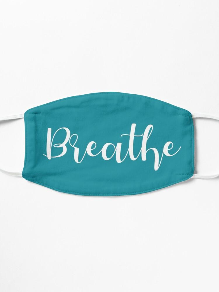 Breathe Meditate Namaste Novelty Yoga Gift Mask