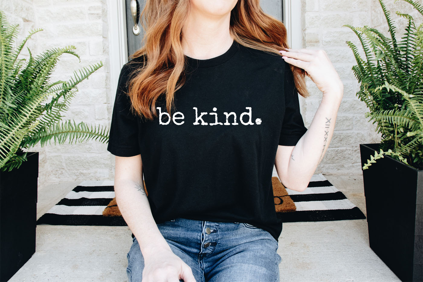 Be Kind Uplifting Gift Kindness T-Shirt