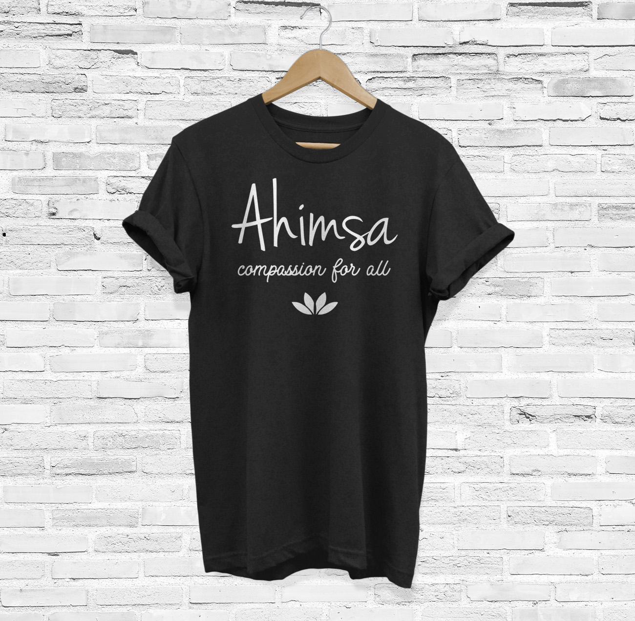Ahimsa Vegan Compassion for All T-Shirt